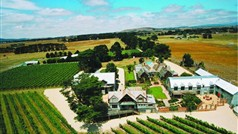 Arial view of Cleveland Winery