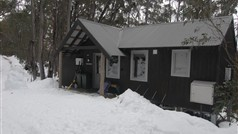 Woollybutt Cabin during winter
