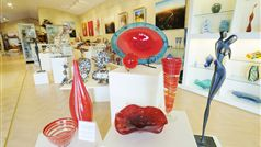 Hand-blown glass - a dramatic statement