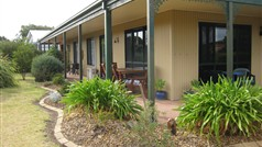 North verandah and outdoor eating