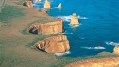 Aerial view of the 12 Apostles