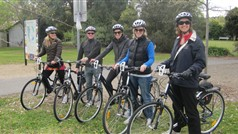 Setting off from Beechworth