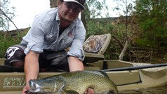 Drift Boat/ Raft Fishing for Murray Cod and Australian Natives
