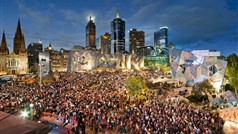 Fed Square New Years Eve