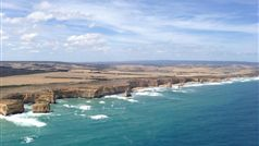 12 Apostles from Helicopter