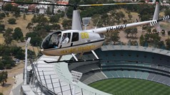 heli experiences helicopter over MCG