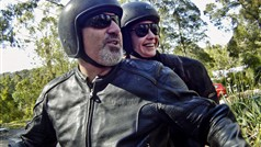 Exciting? You bet it is, when you are the passenger on a genuine Harley Davidson motorcycle.