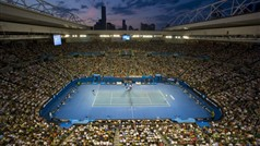 Rod Laver Arena during The Australian Open