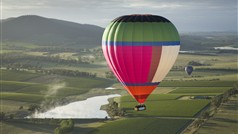 'Alawoonah' flying over the spectacular Yarra Valley!