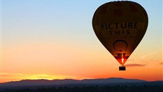 Balloon Flight at Dawn