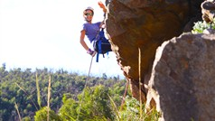 Some amazing abseiling only 1 hour from Melbourne CBD