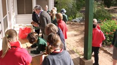 School Tour: Cuppa on the Verandah