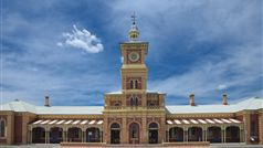 Albury's historic Railway Station