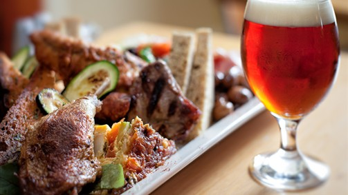 Holgate's beer & food pairing