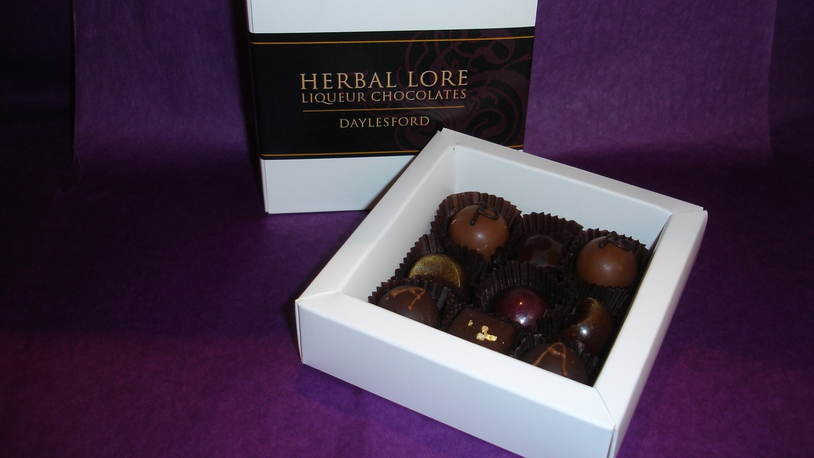 Delicious Liqueur Chocolates