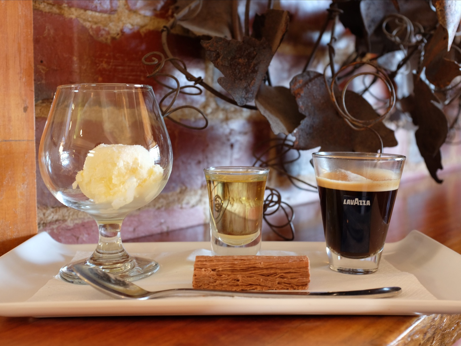 Affogato in the Cafe