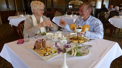High Tea At Heritage Restaurant, Grange Bellinzona