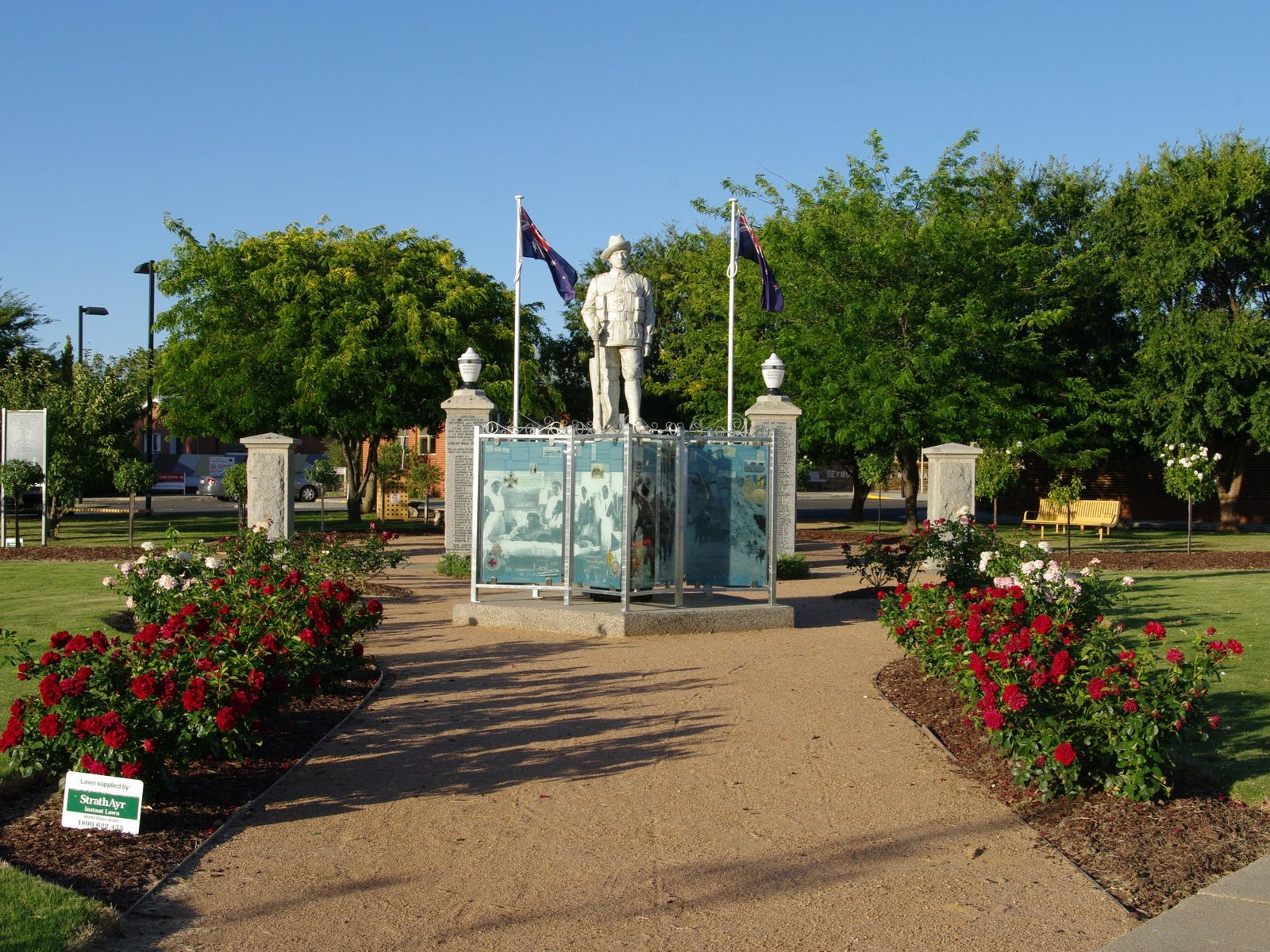 WW1 Memorial Park, Seymour