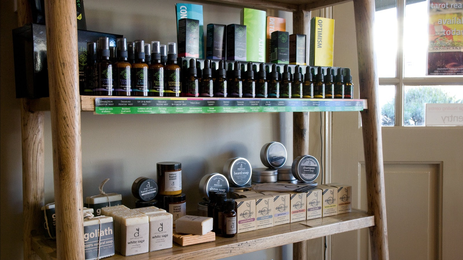 Soaps, Flower Essences and much more