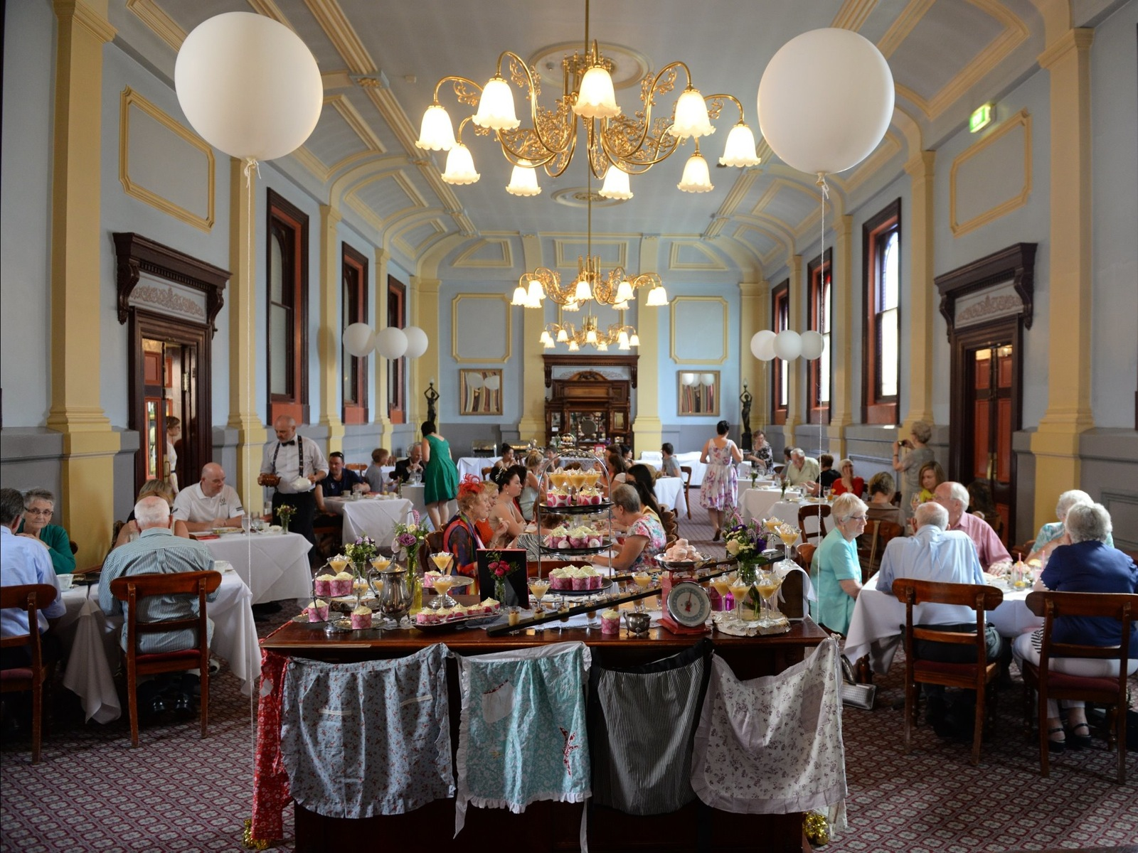 Afternoon Tea in the Grand Dining Room