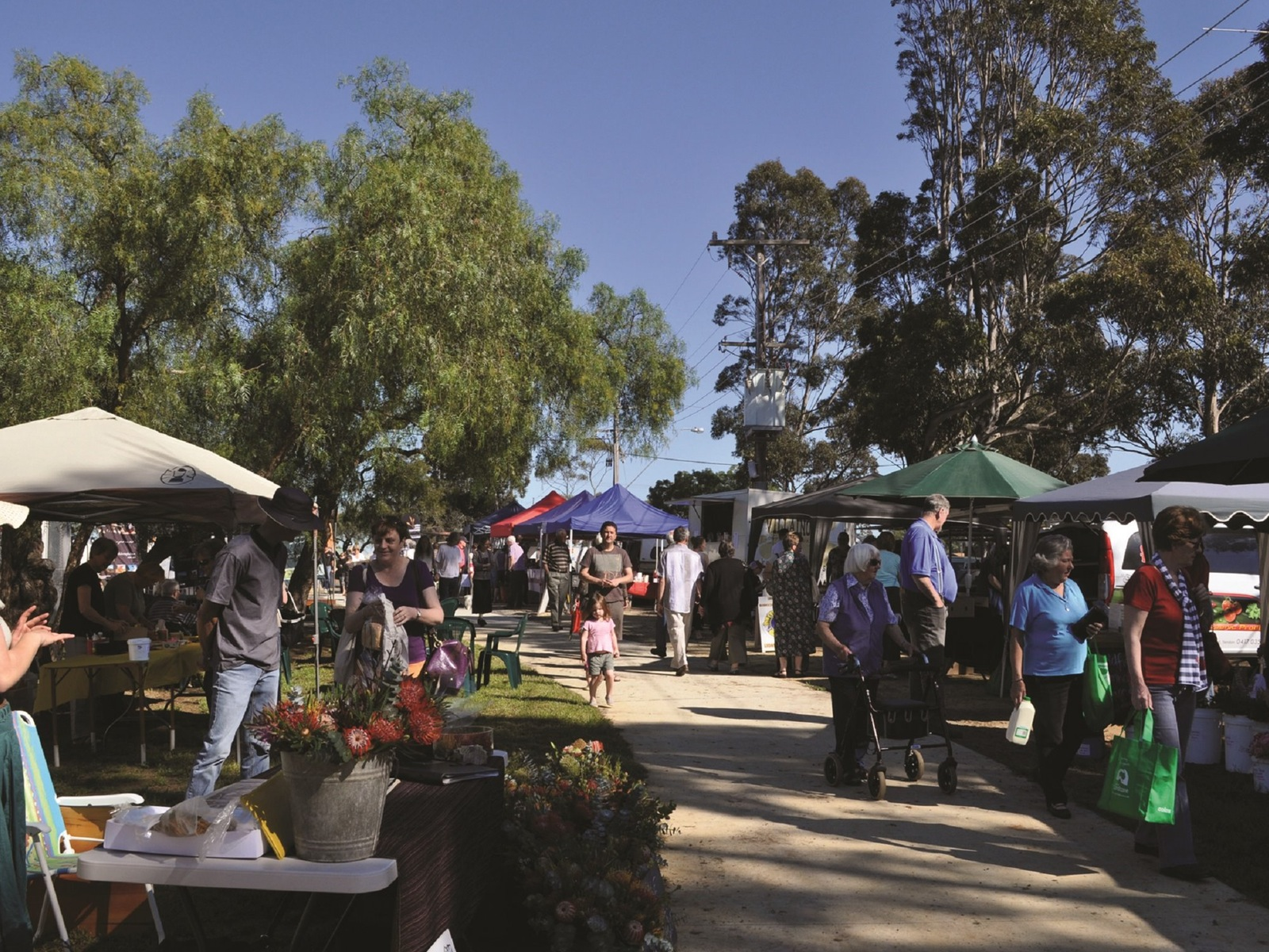 A lovely day at the Golden Plains Farmers' Market