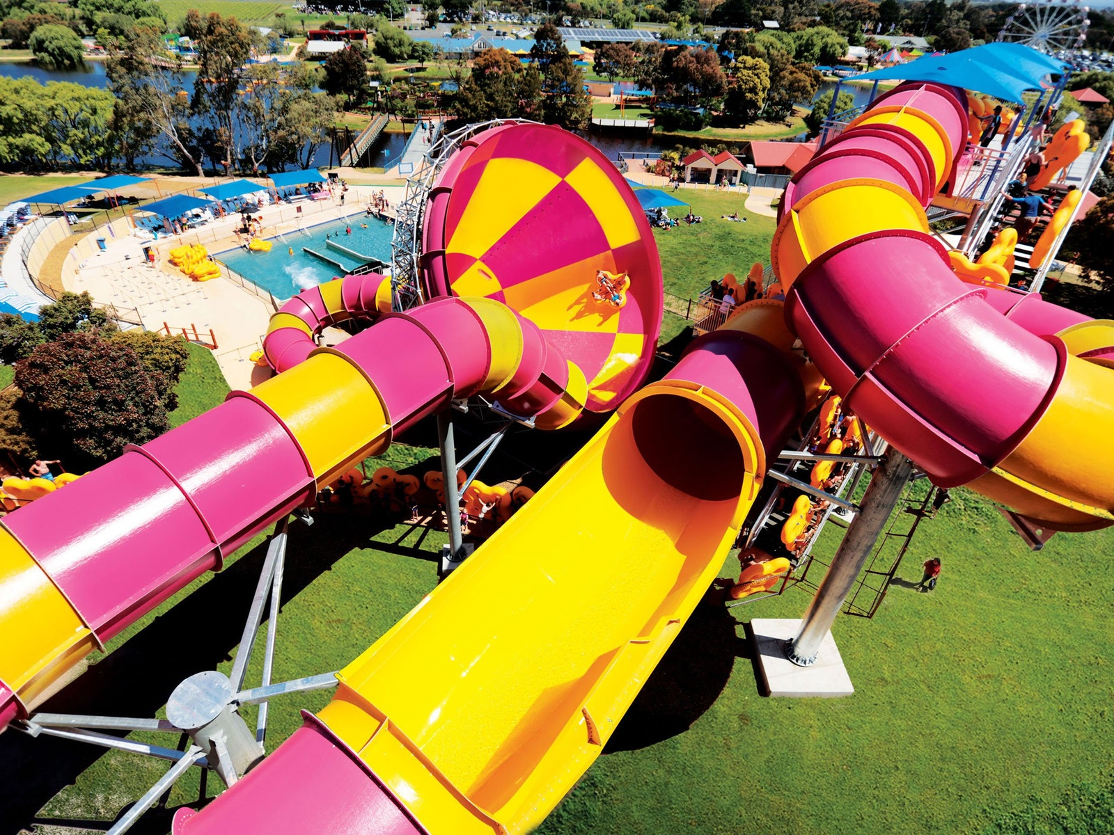 The Tornado waterslide
