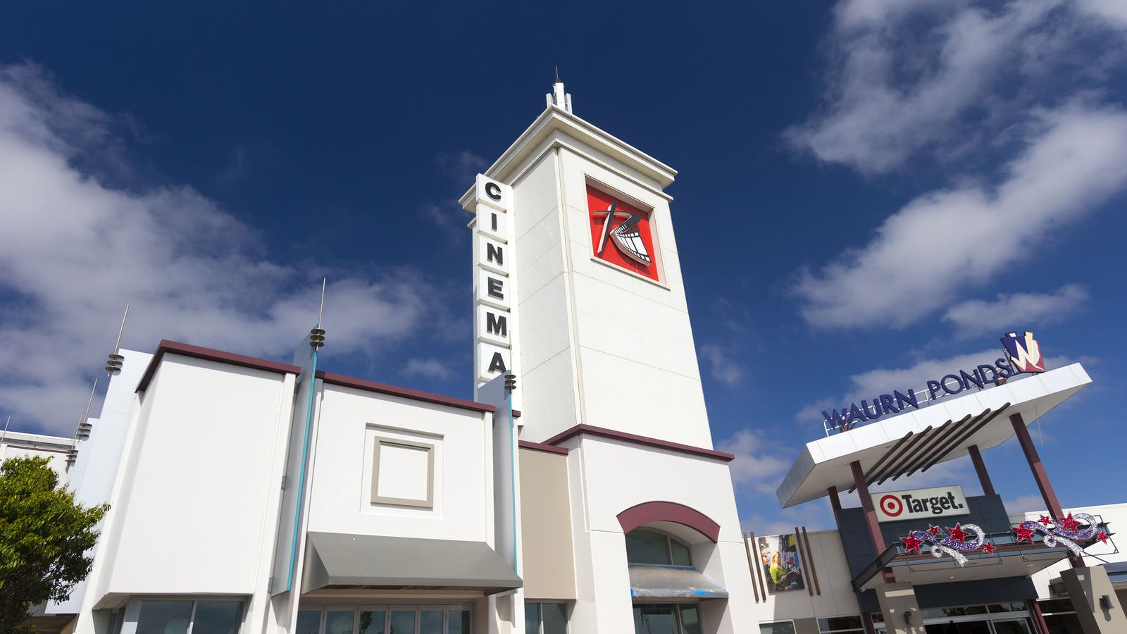 Reading Cinema + Target Entry