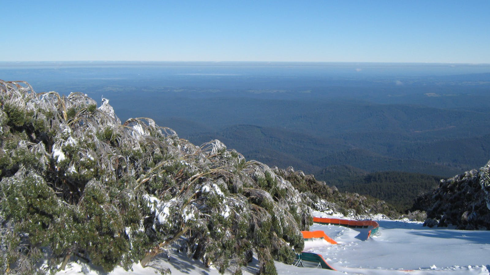 Bluebird day at Mt Baw Baw
