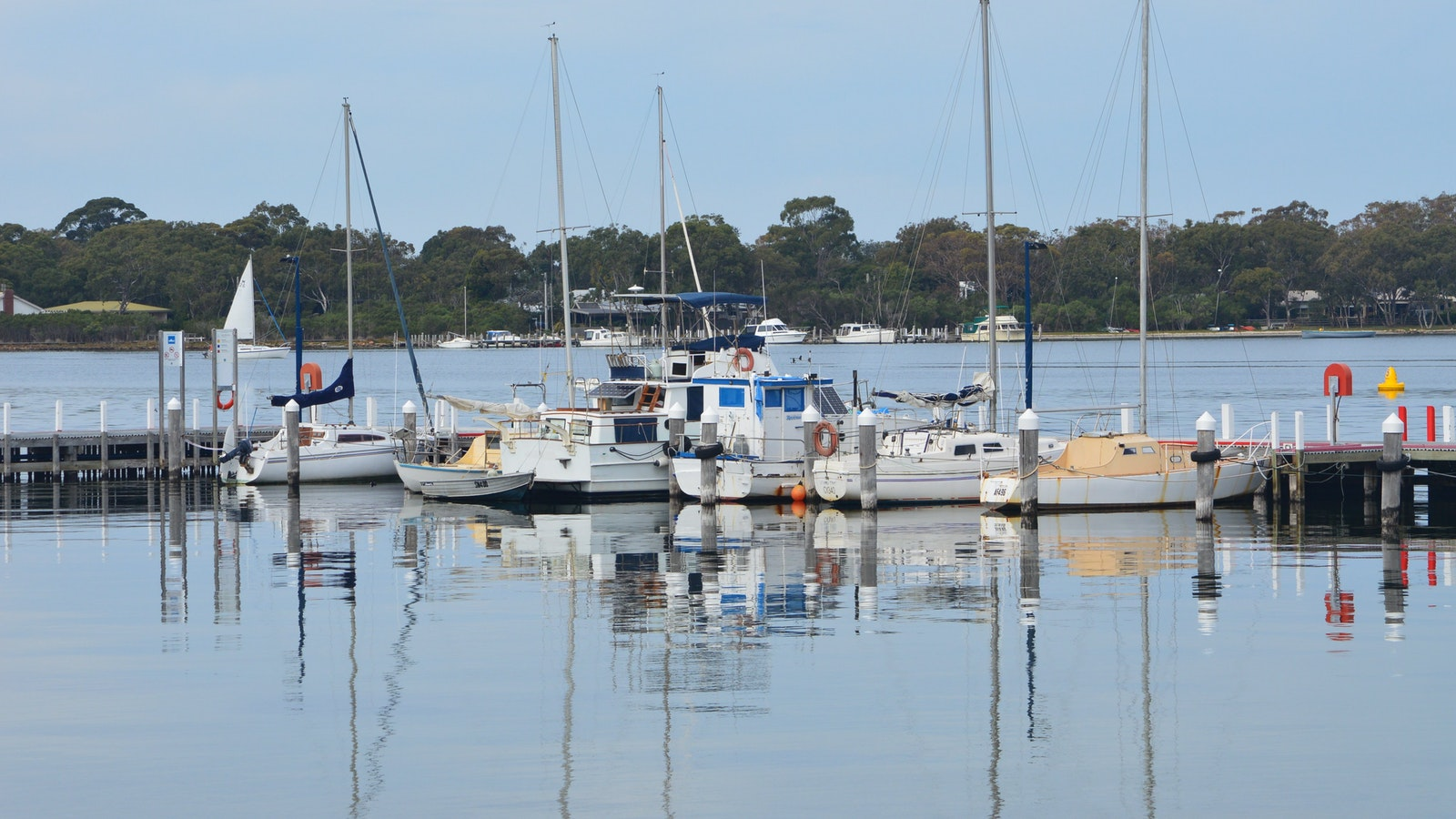 Reflections on the Gippsland Lakes