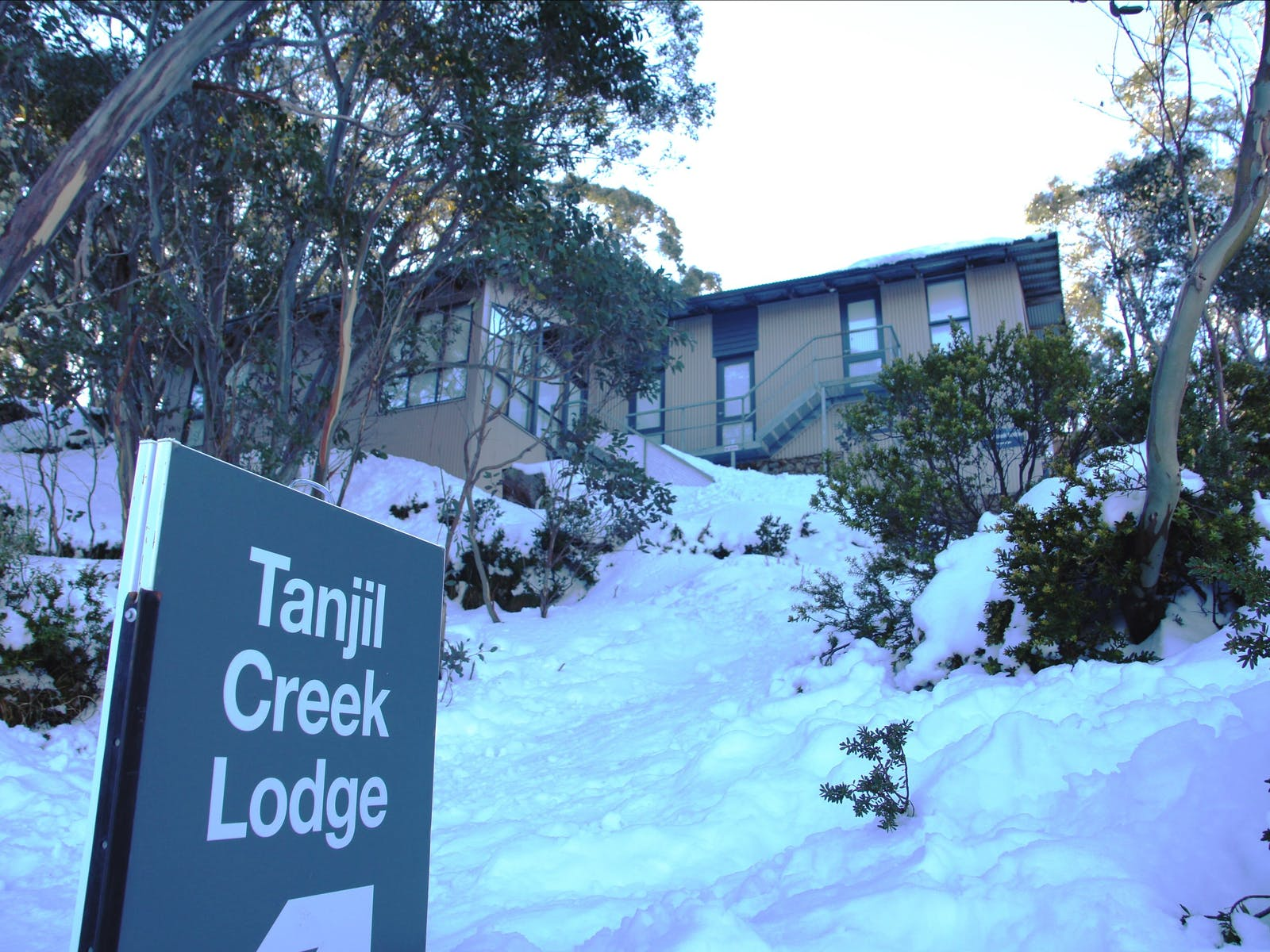 Winter wonderland atTanjil Creek Lodge Mt BawBaw