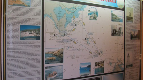 Mailmen of Bass Strait display
