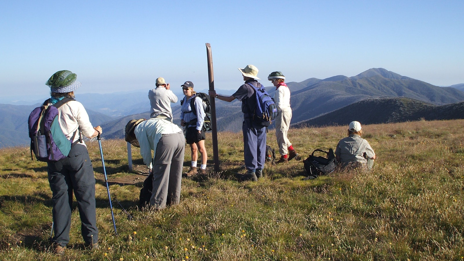 Small group guided walk to Mt Feathertop Adventure (Gippsland High Country Tours)