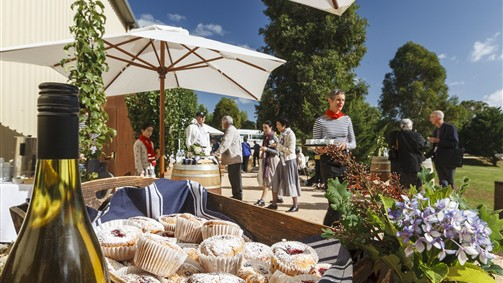 Afternoon Tea at the Sanguine Estate Music Festival