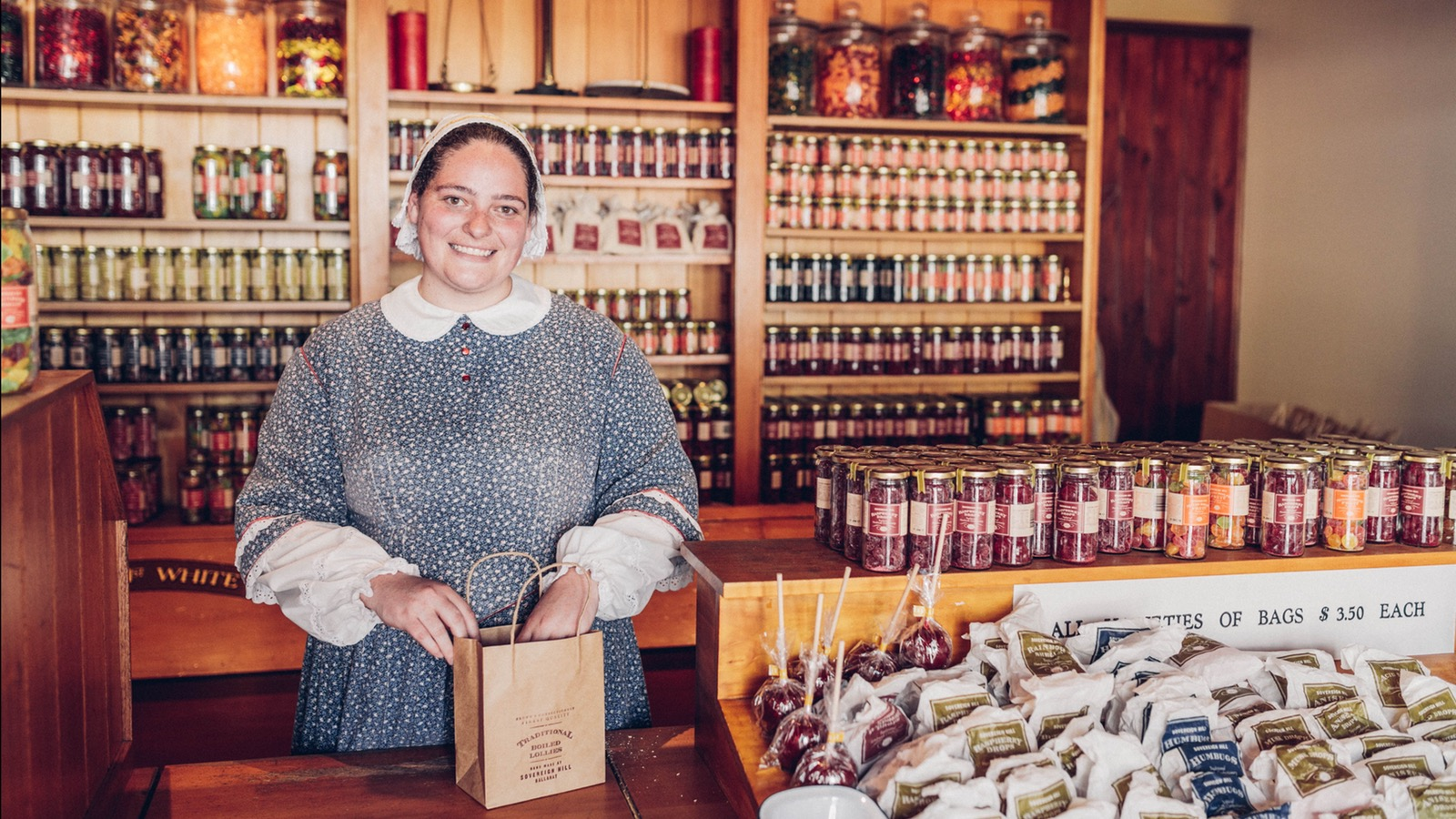 Confectionery Shop at Sovereign Hill
