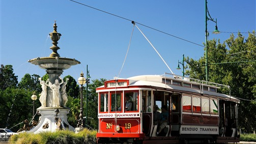 Bendigo Tramways Vintage 'Talking' Tram