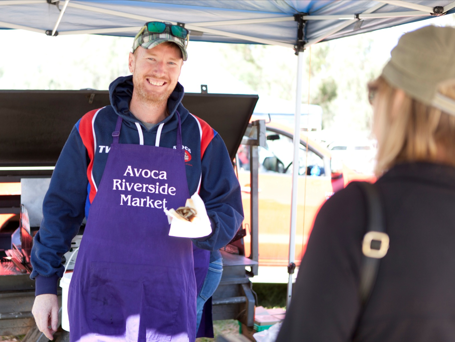 BBQ at Avoca Riverside Market