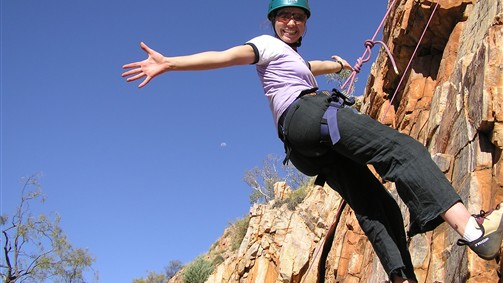Rock climbing in the Grampians and Mount Arapiles