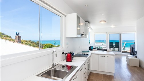 Apt 1 - open plan living with sensational views