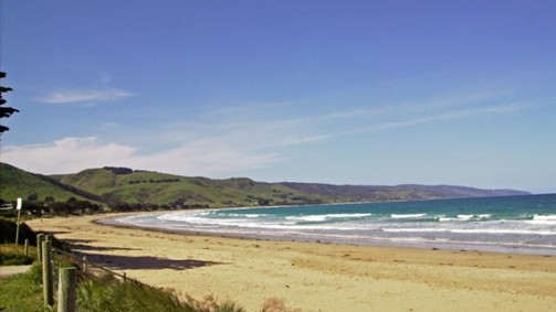 Beach at Apollo Bay