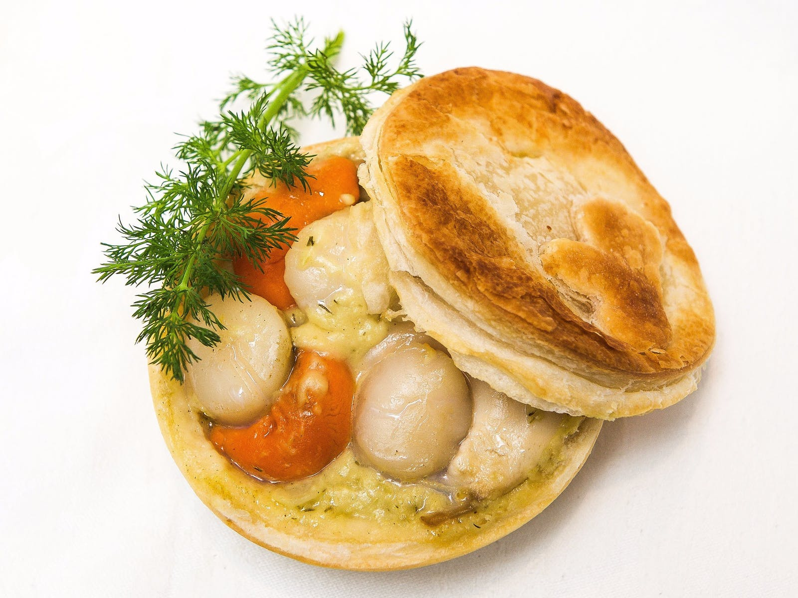 The Famous Scallop Pie