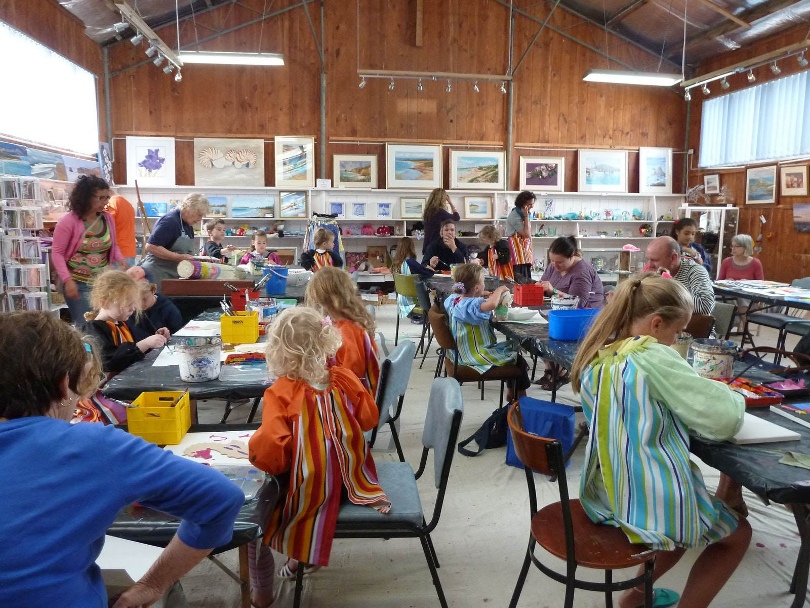 """Kids Art Bash"" held every January"