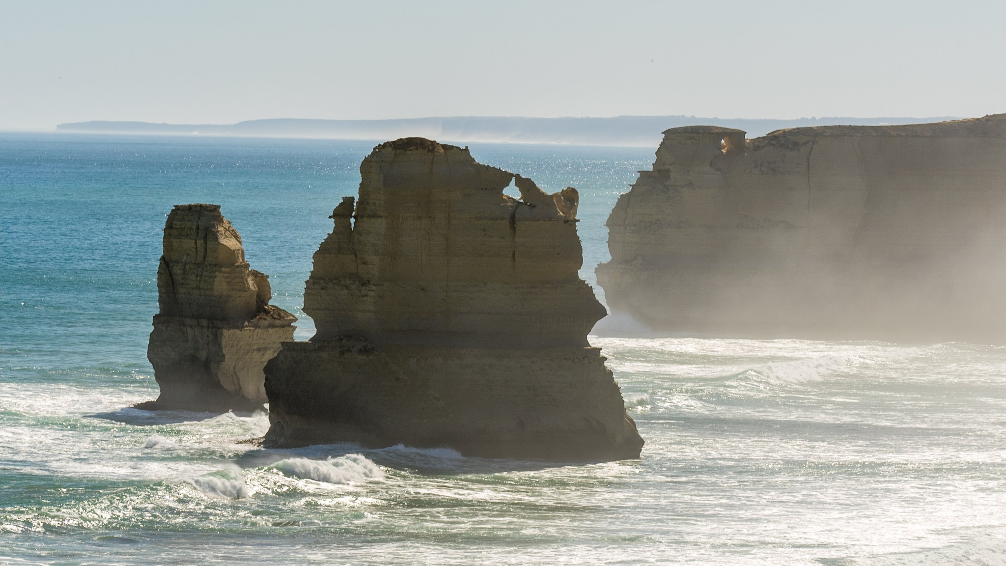 The Gibson Steps rock formation at Port Campbell