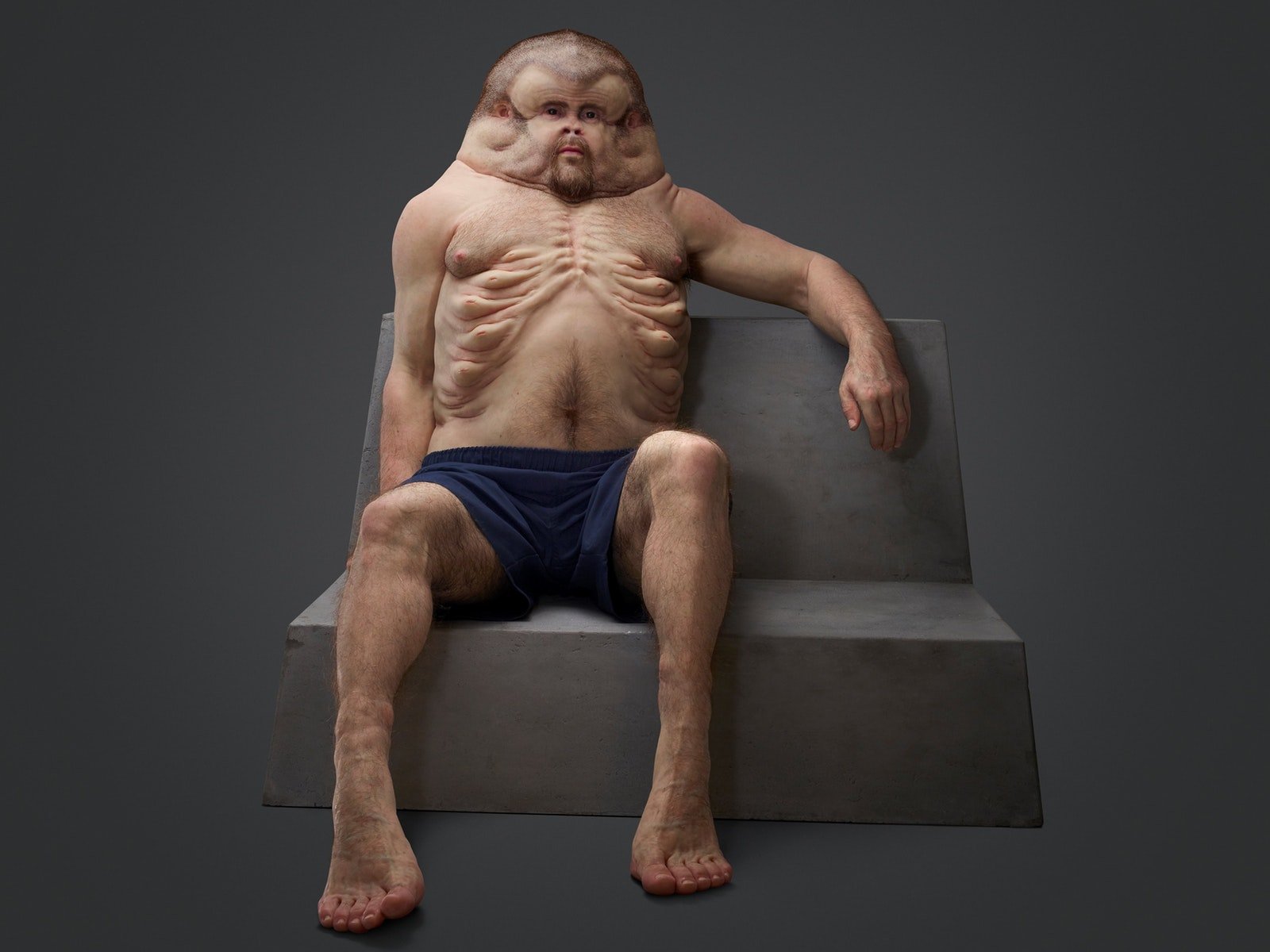 Patricia Piccinini, Graham, 2016. Commissioned by the Transport Accident Commission.