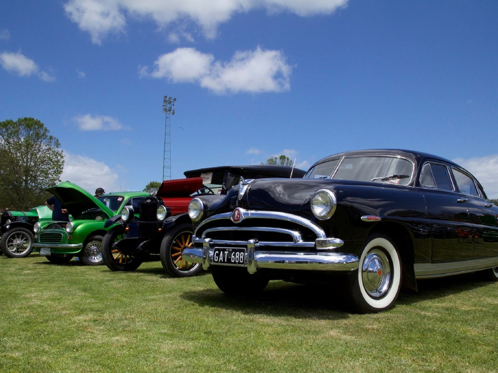Benalla Cruise 'n' Shine & All Aussie Track Day