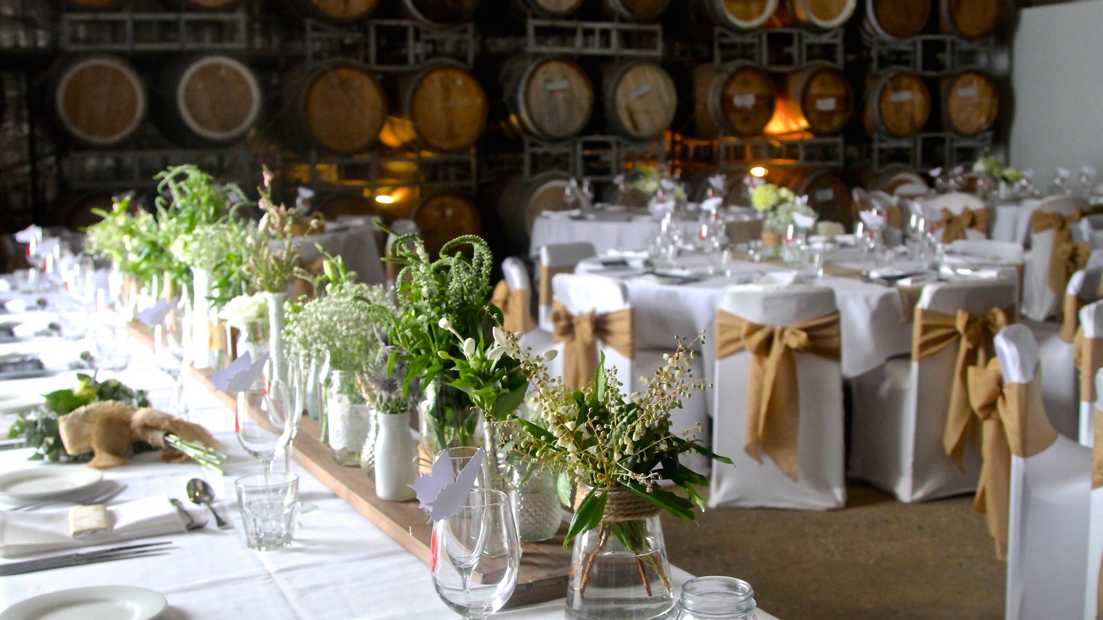 Barrel Room Wedding
