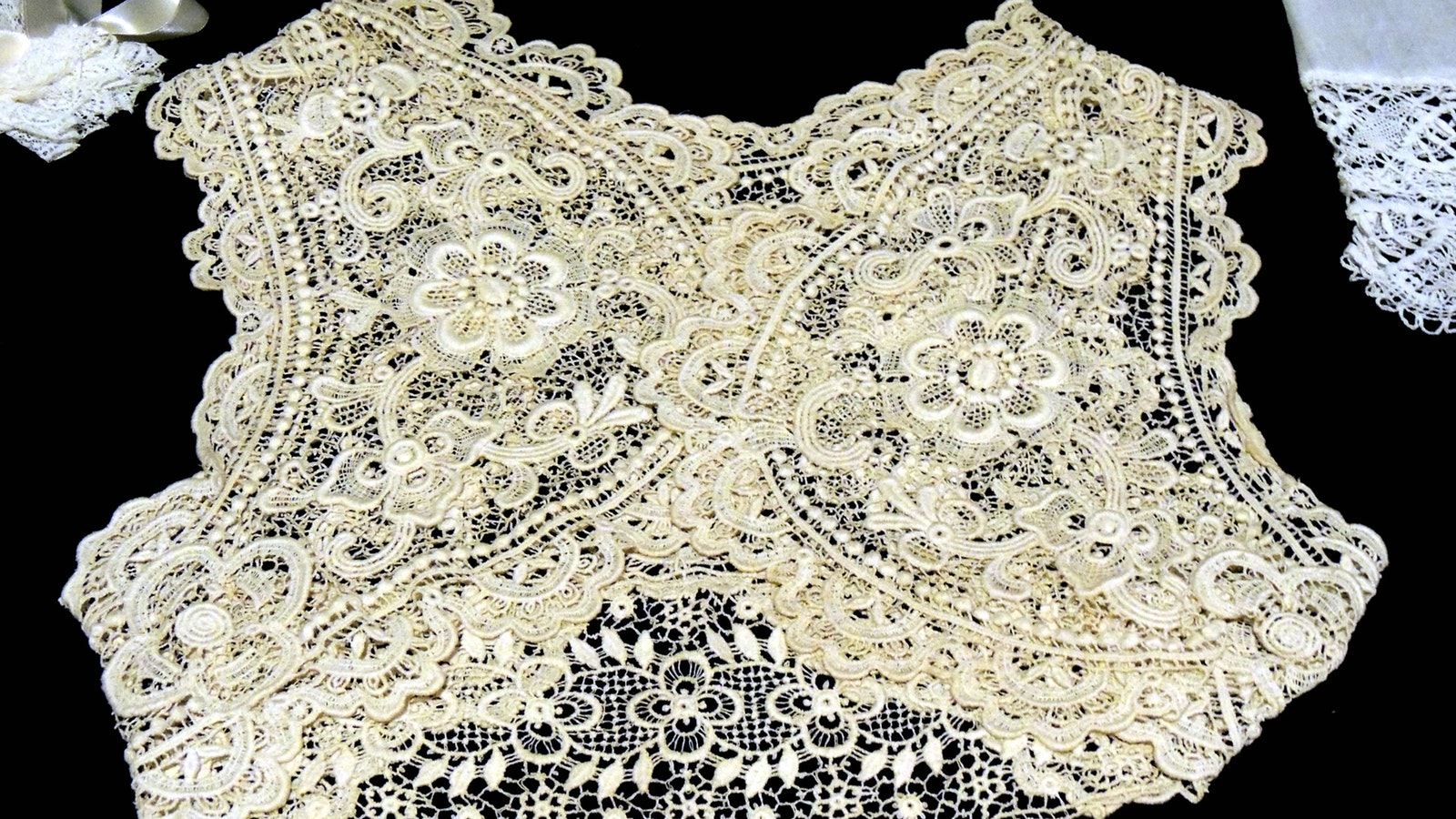 'Lovely in Lace' exhibition