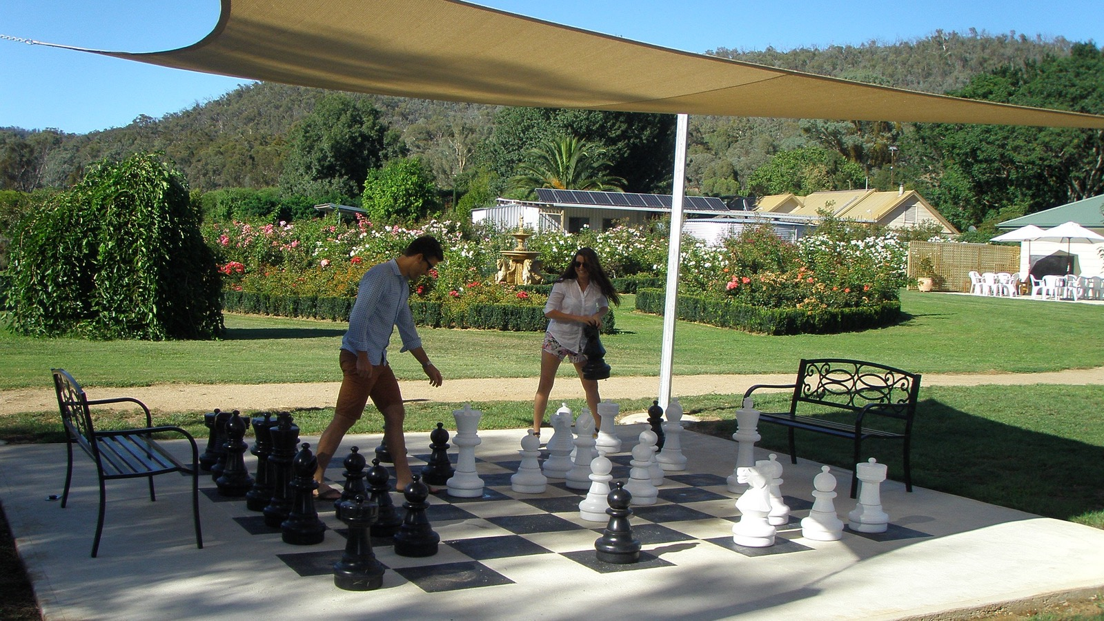 Brookfield Maze Chess