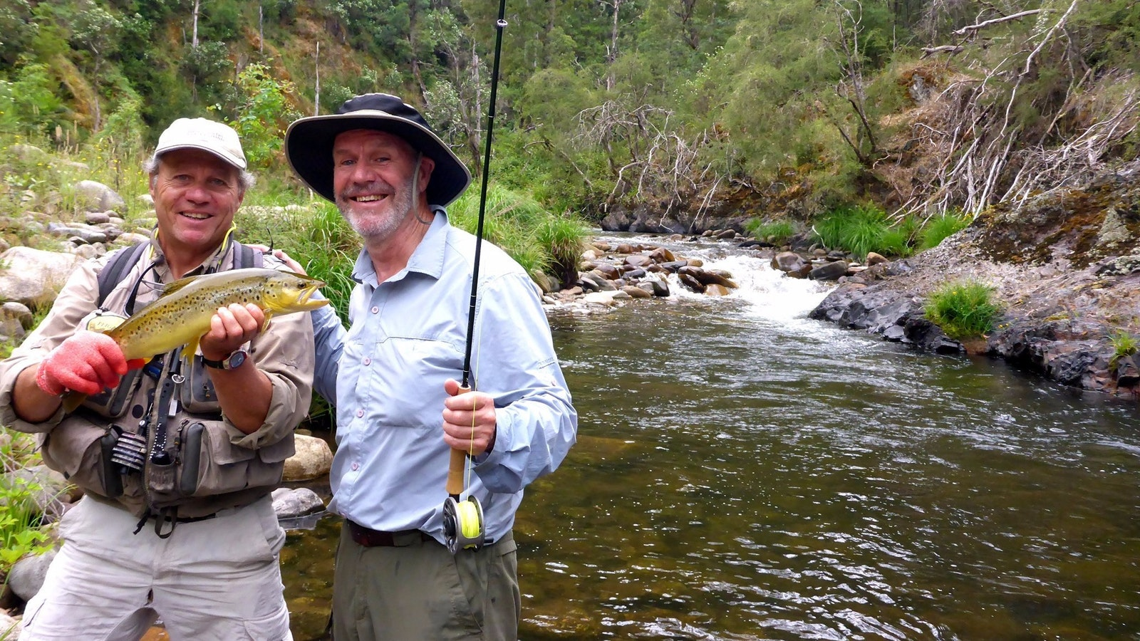 Riverdowns Fly Fishing Guiding and Instruction