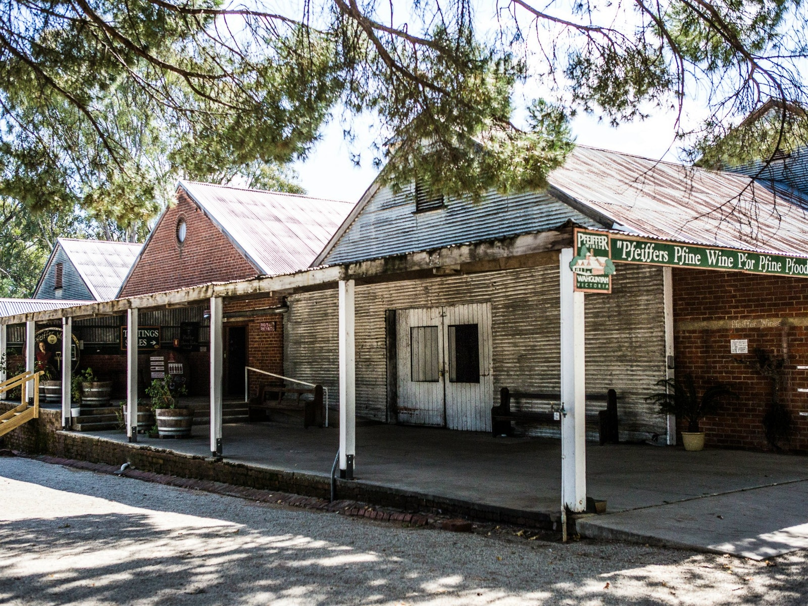 Pfeiffer Wines historic cellar door