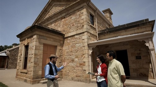 Historic walking tour of Beechworth